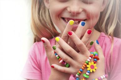 Детский лак для ногтей