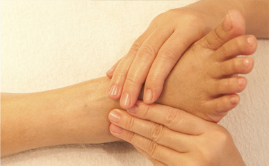массаж ног после педикюра
